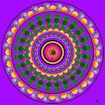 """Uno dei simboli delle Danze in Cerchio è il """"Mandala"""" dal sanscrito:""""Cerchio con un Punto Centrale"""""""