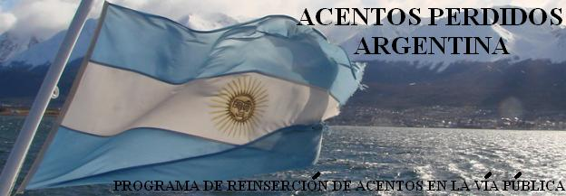 ACENTOS PERDIDOS ARGENTINA