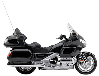 2010 Metallic Black Honda Gold Wing GL18HPM Audio Comfort