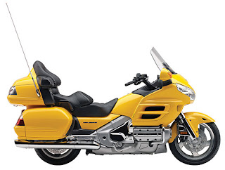 2010 Yelllow Honda Gold Wing GL18HPM Audio Comfort