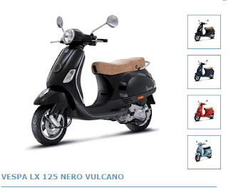 New Motorcycles Vespa LX125 2010