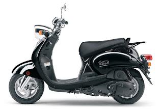 2010 Black Yamaha Vino 125