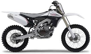 2010 New Motocross Yamaha YZ450F