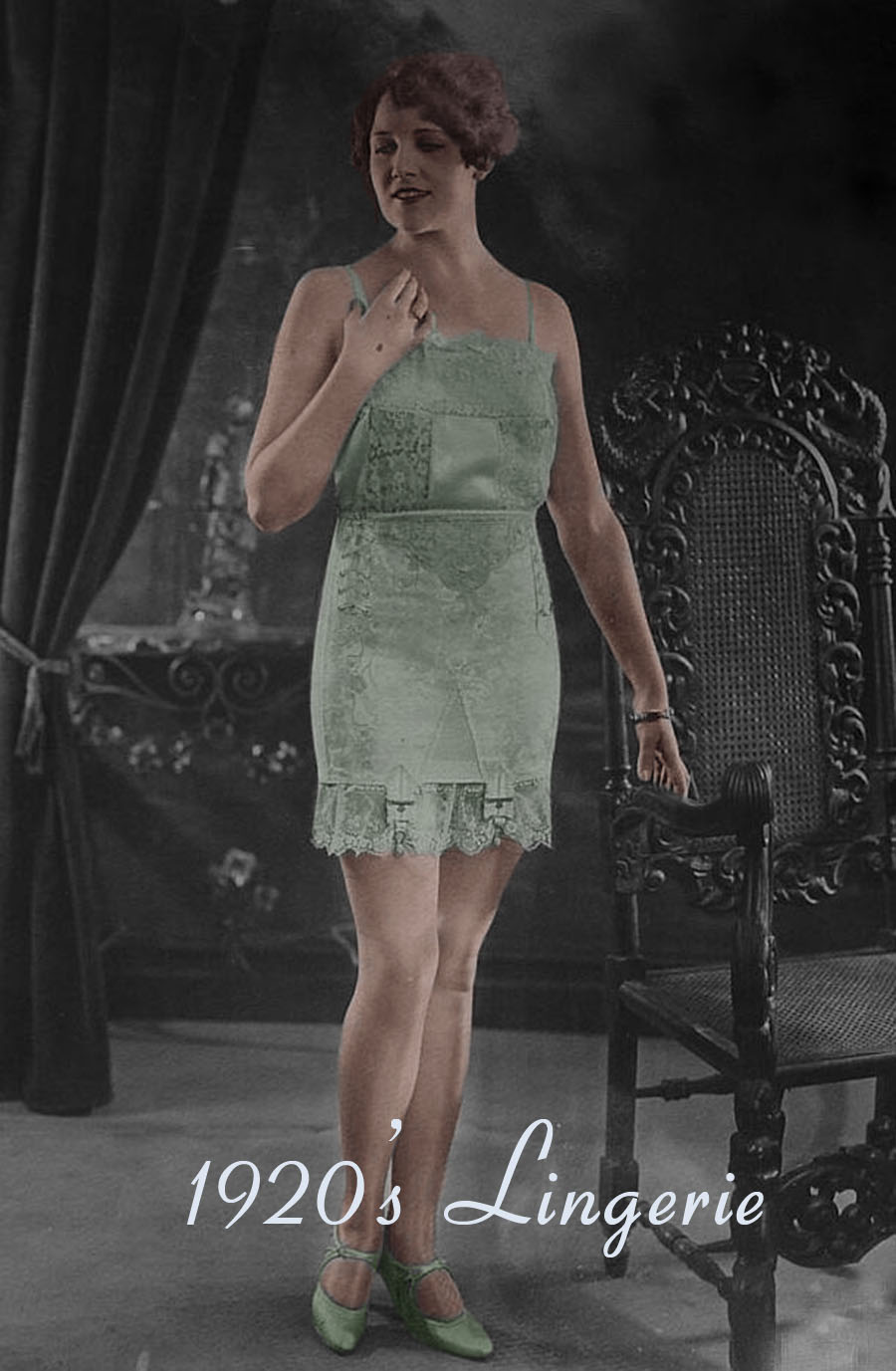 1920s fashion - womens dress and style - lingerie