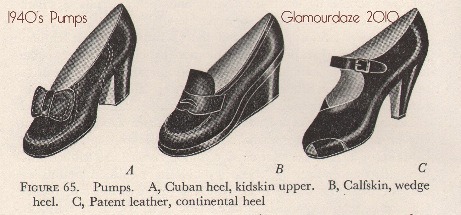 1940s pumps