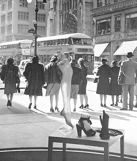 1940 S Fashion New York Women Glamourdaze