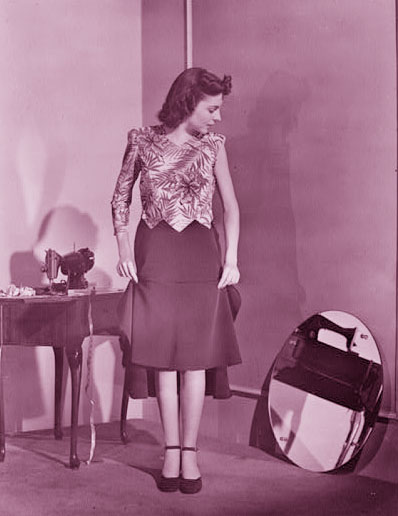 1940s Fashion A Womans Guide To Posture Glamourdaze