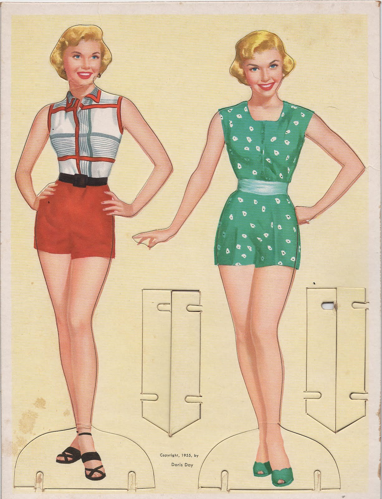 vintage paper dolls Judy's place offering paper dolls including dress up paper dolls, vintage paper dolls, and celebrity paper dolls.