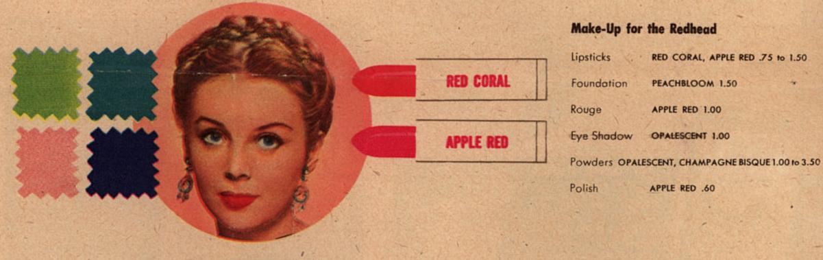the helena rubinstein 1940 s makeup guide glamourdaze. Black Bedroom Furniture Sets. Home Design Ideas