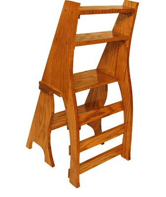 Step Stool Chair Plans