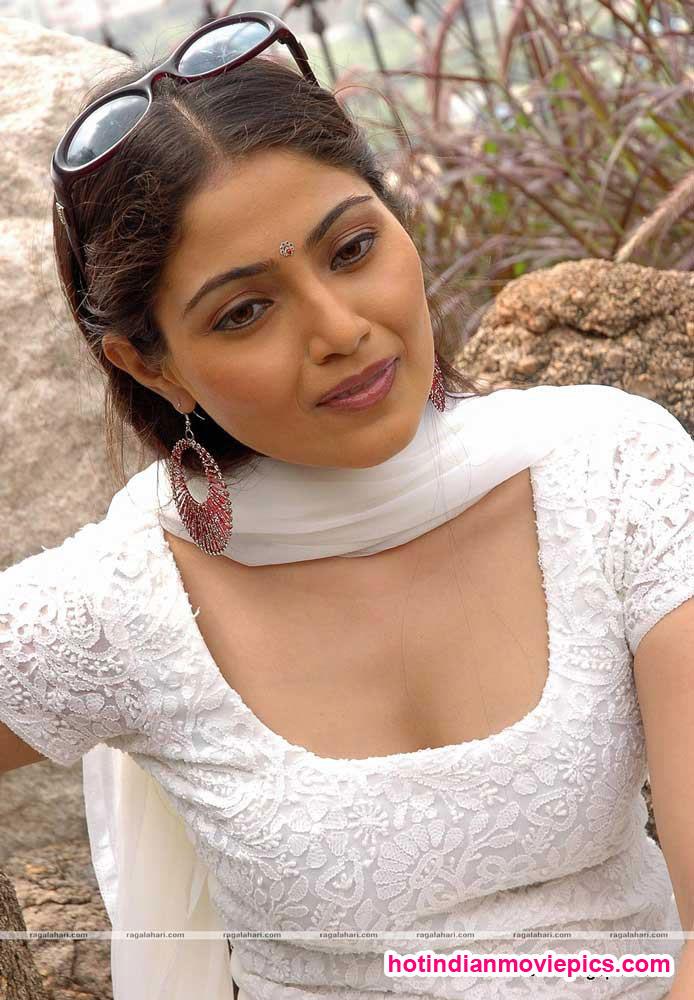 Hot Aunties Telugu Desi Aunty Aishwarya Durgal Cleavage Show