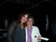 Con Gabriela Montero