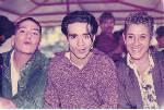Con Myriam Martinez, Carlos Castillo y Pepe Tejera