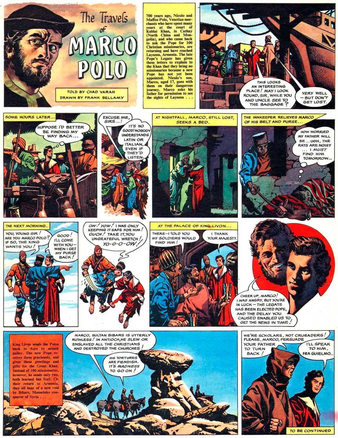 British Comic Art: Marco polo