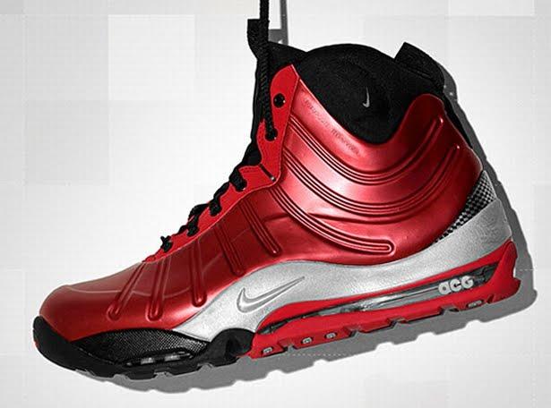 f5dae50134377 KICK GAME   Nike ACG Air Max Bakin  Posite Boot- Cranberry   Black