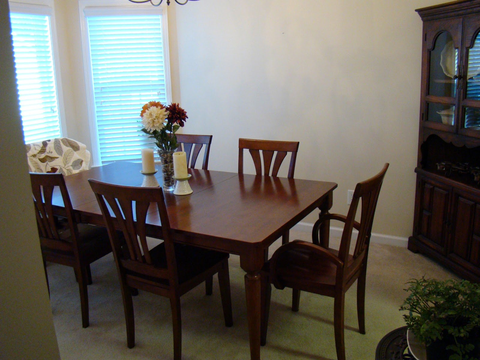 Blank Wall Ideas Dining Room : Living a bona fide life before and after dining room