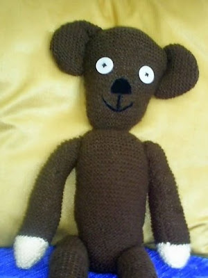Free Knitting Pattern – Mr. Bean Style Teddy Bear from the Teddy