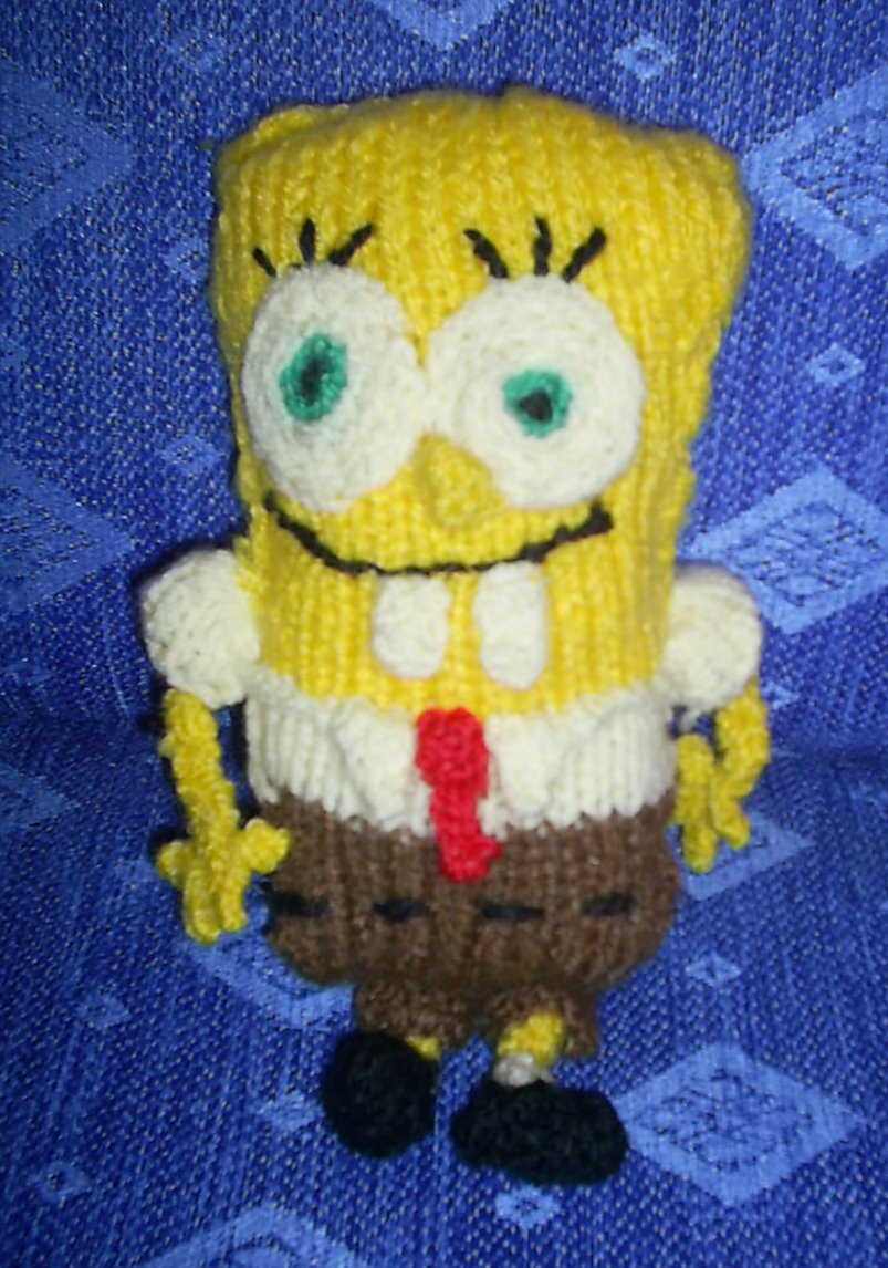 Knitting Addict: SpongeBob SquarePants