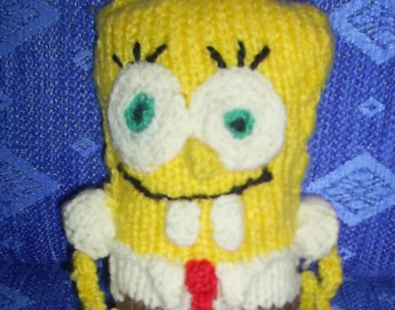 Knitting Addict Spongebob Squarepants