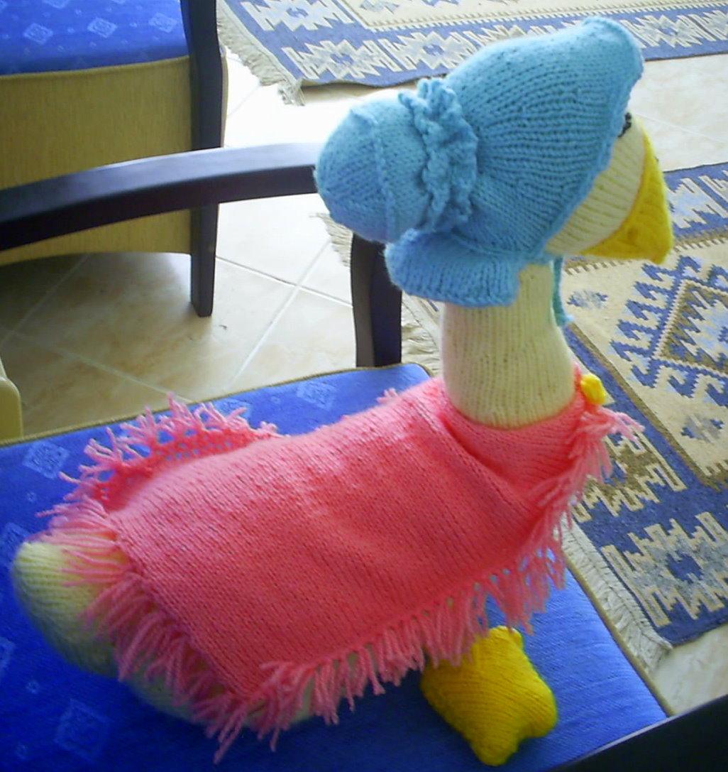 Knitting Pattern For Jemima Puddle Duck : Knitting Addict: Jemima Puddleduck