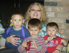 Me and my 3 grandsons, Christmas 2010