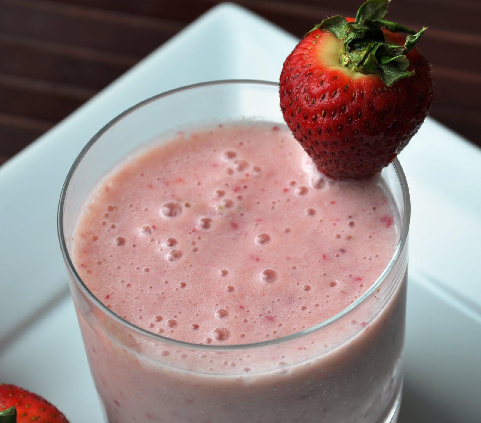 Strawberry Banana Smoothie For My Bff Jhiane Honey