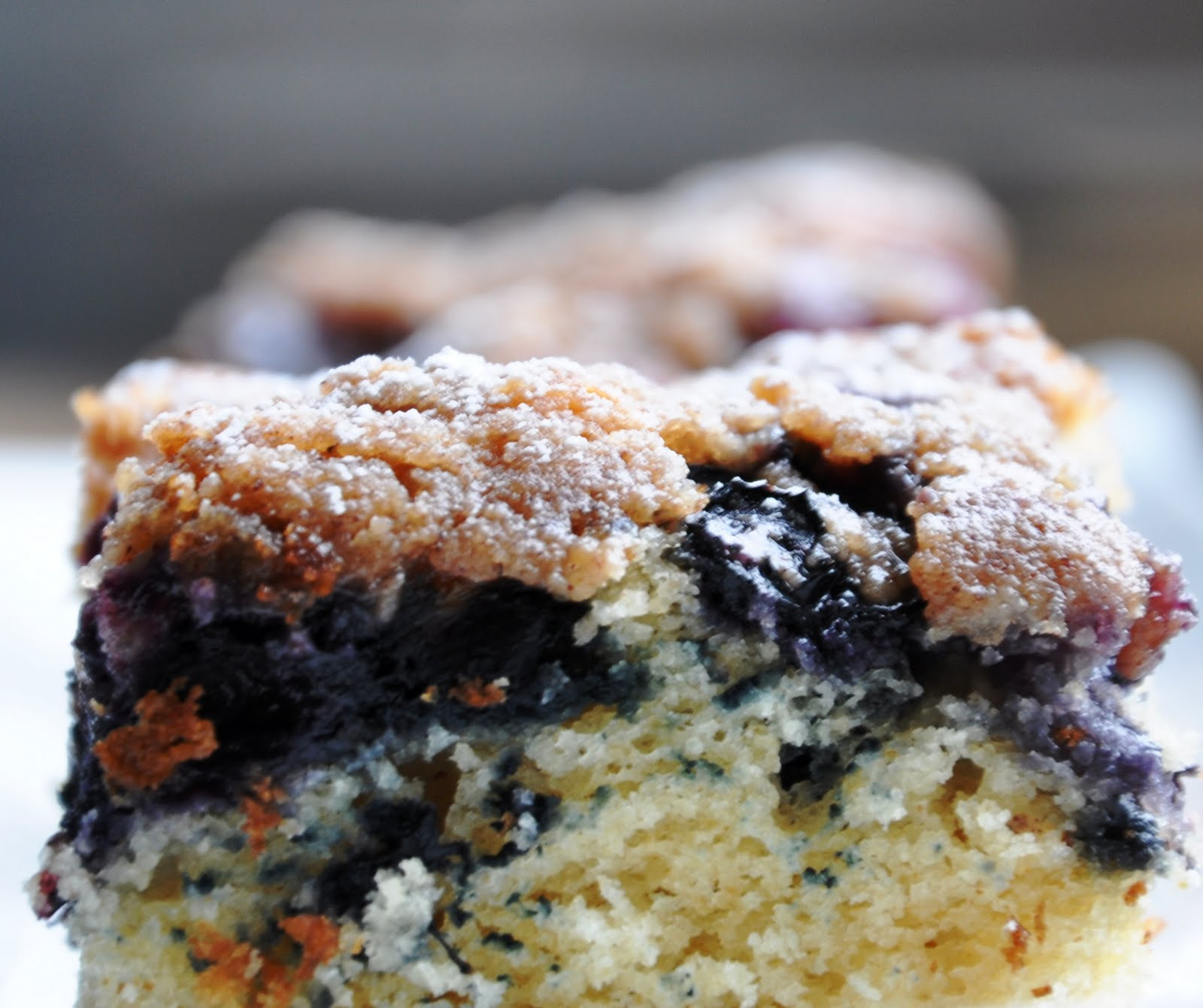 Blueberry Lemon Crumb Cake (142 Calories & LITE)... For My ...