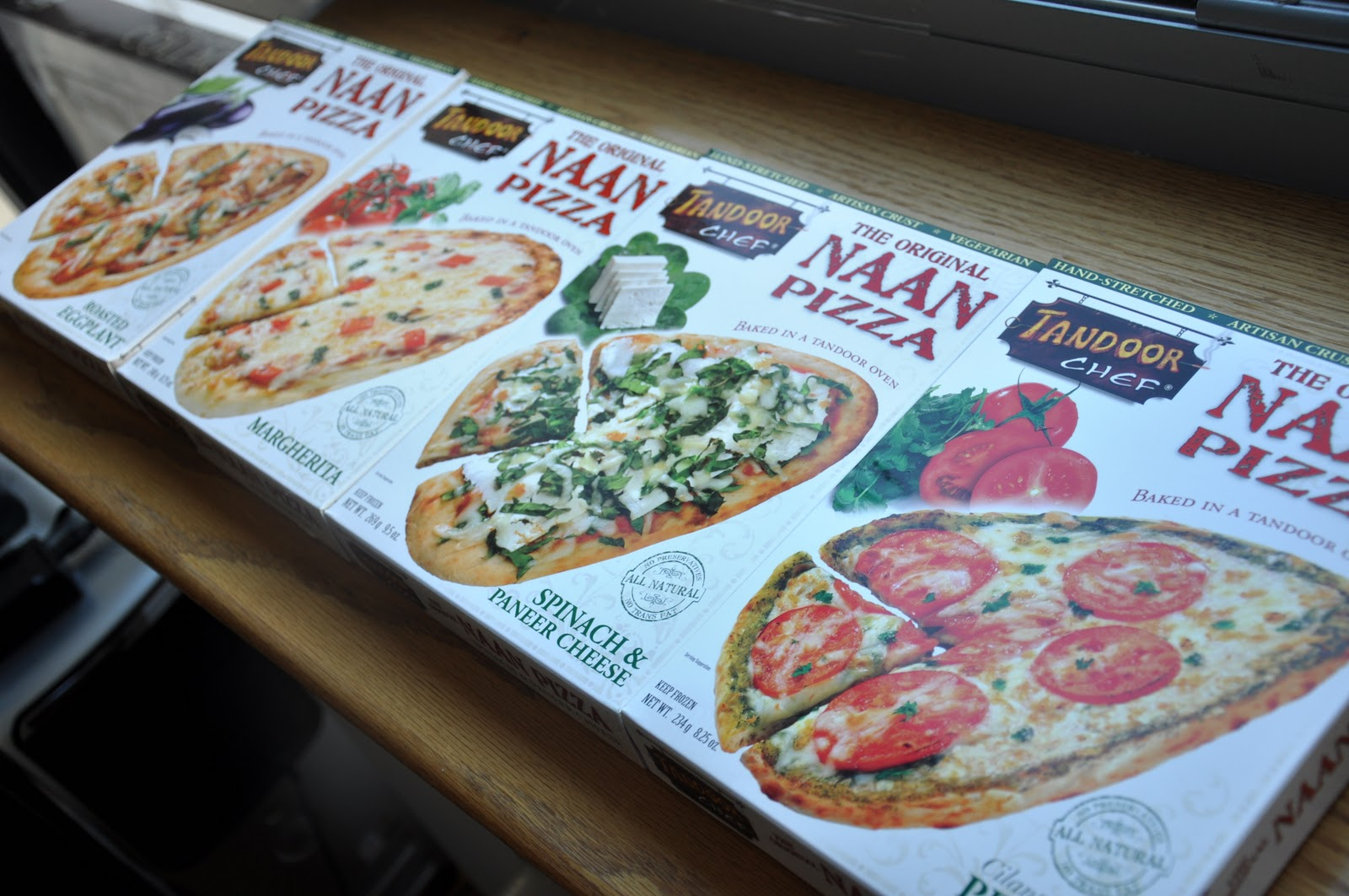 Product Review: Tandoor Chef\'s - The Original Naan Pizza (4 flavors ...