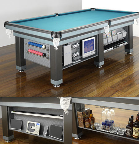 28. A Pool Table That's Not Just A Pool Table
