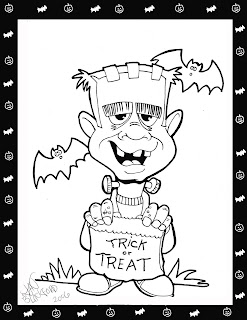afx templates - cartuneman 39 s doodles happy halloween coloring pages for