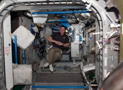 Astronautas ficam doentes sem gravidade