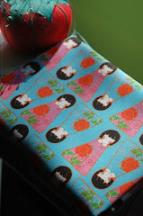 Kokeshi Girls Fabric