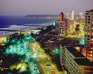 Durban by night