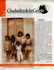 Boletín Nº 1 Ciudades de la Gente
