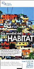 DIA MUNDIAL DEL HABITAT 2009 en  la FAU - UCV. Caracas.