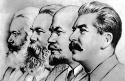 Marx,Engels,Lenine e Staline
