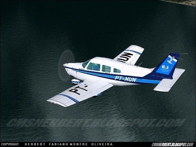 FS2002/FS2000 EMB-712 Tupi Aeroclube de Bauru