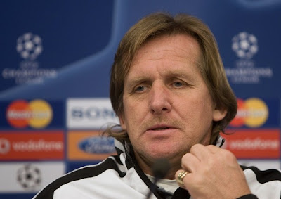 Bernd Schuster Real MAdrid's ex coach