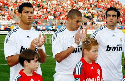 Cristiano Ronaldo and Kaka Make
