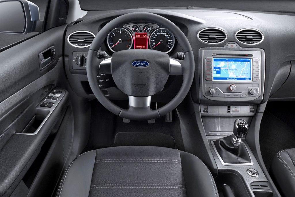 ford focus 2008. *Foto: Interior Ford Focus*