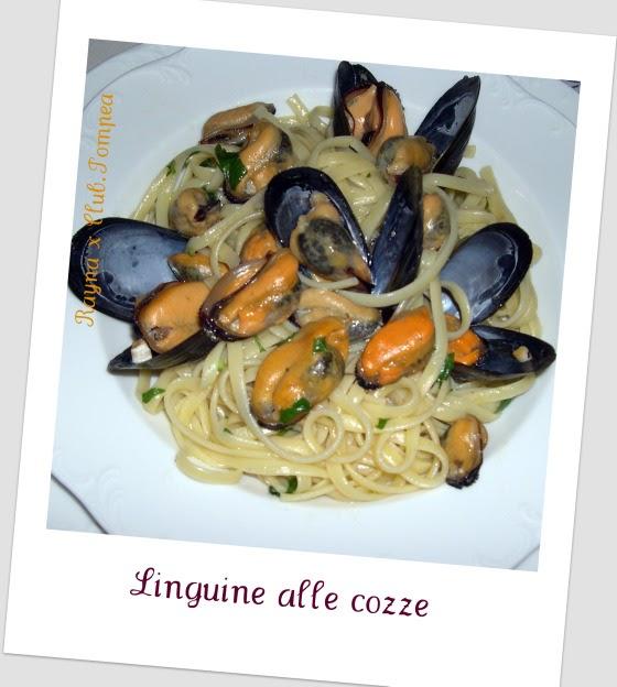 Cucina italiana per bulgari e non solo linguine alle cozze for P cucina italiana