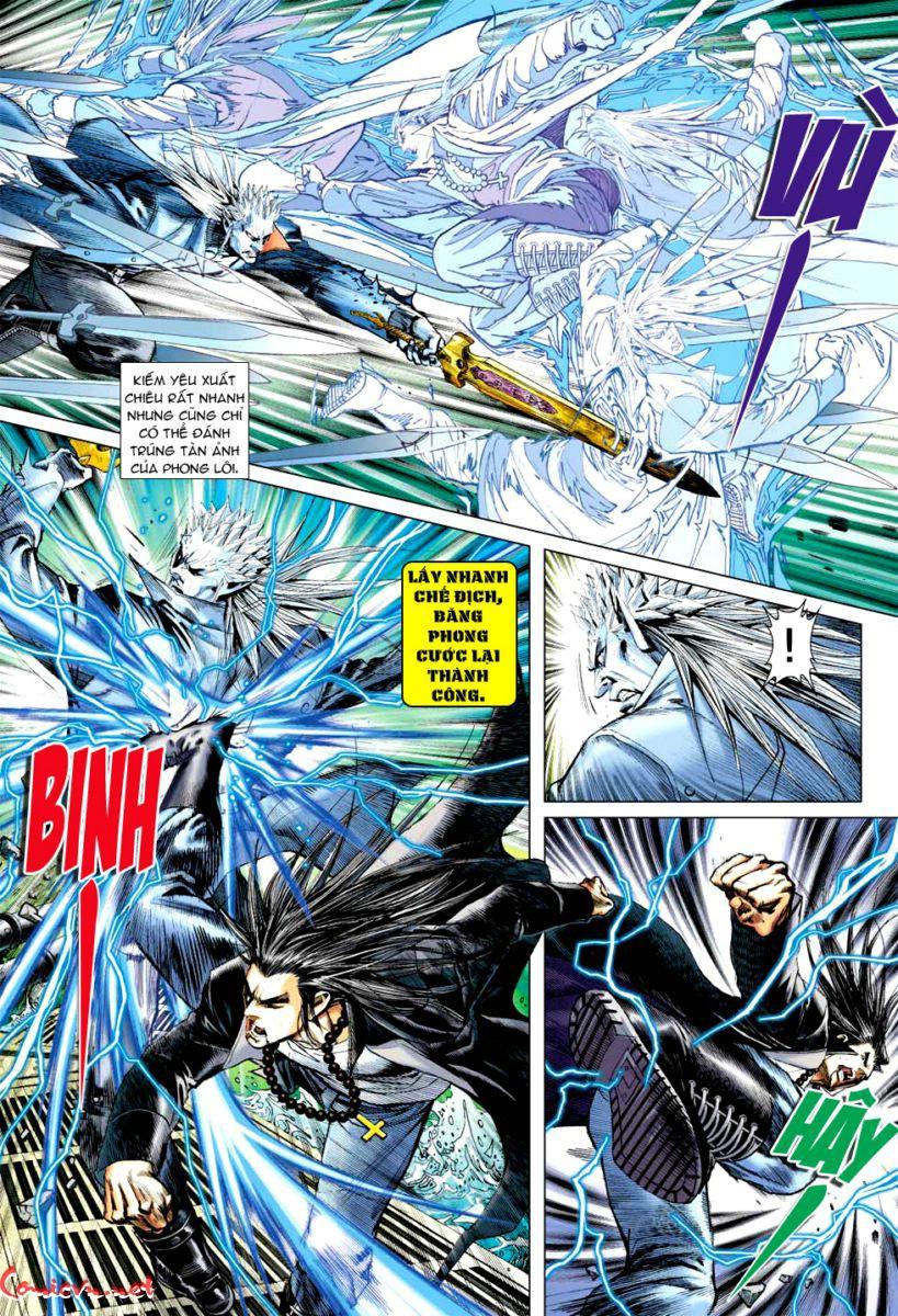 Vương Phong Lôi 1 chap 57 - Trang 21