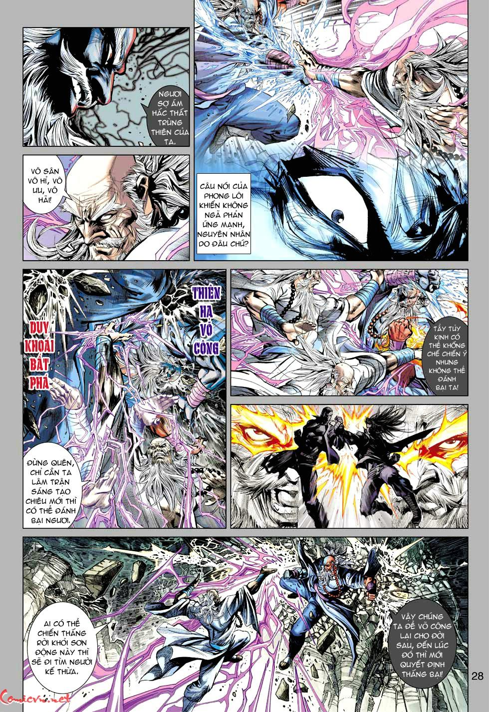 Vương Phong Lôi 1 chap 49 - Trang 29