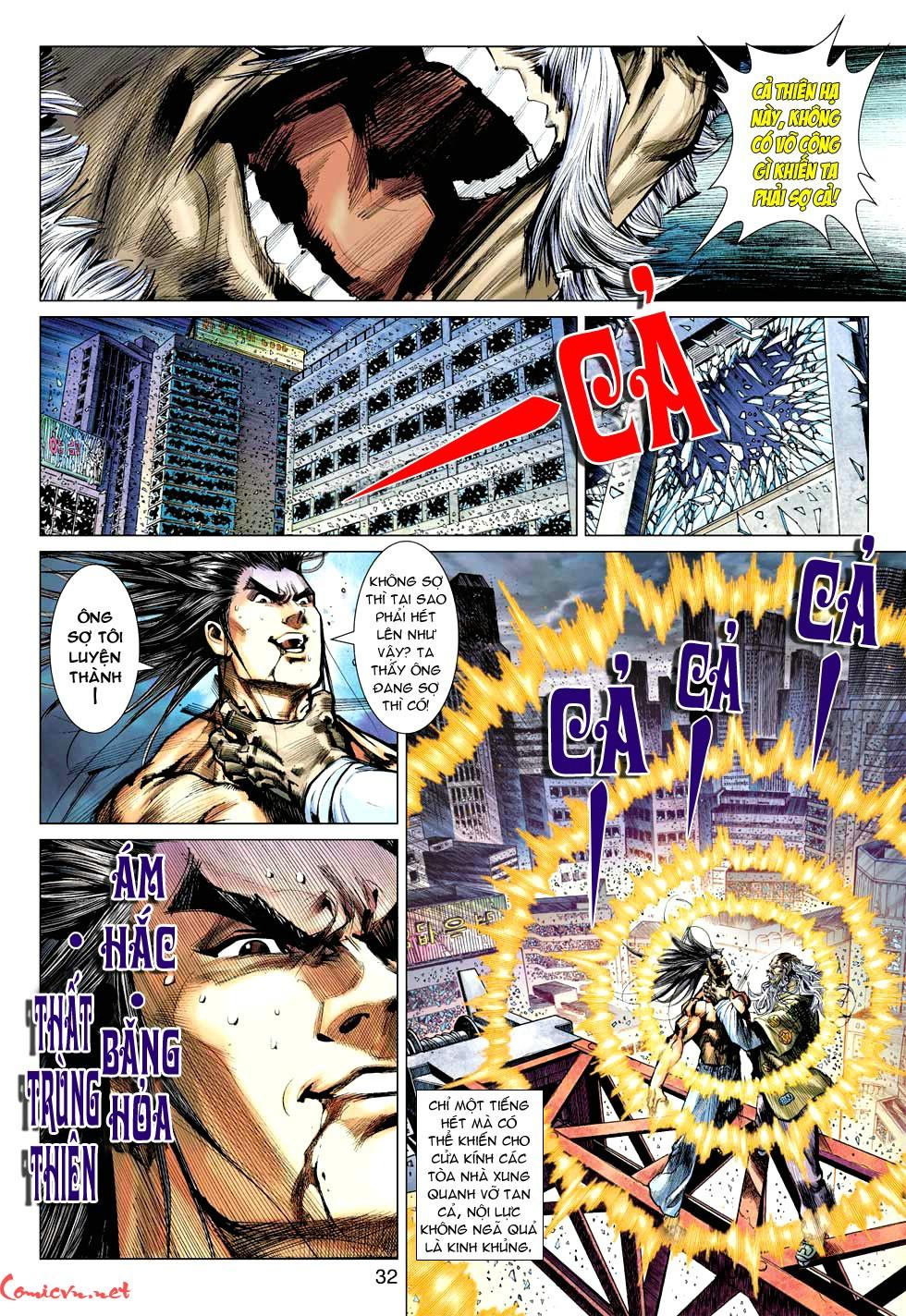Vương Phong Lôi 1 chap 49 - Trang 33