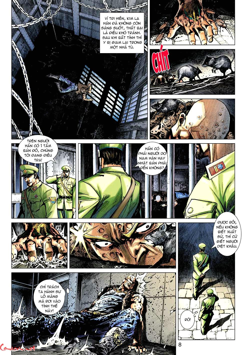 Vương Phong Lôi 1 chap 49 - Trang 8
