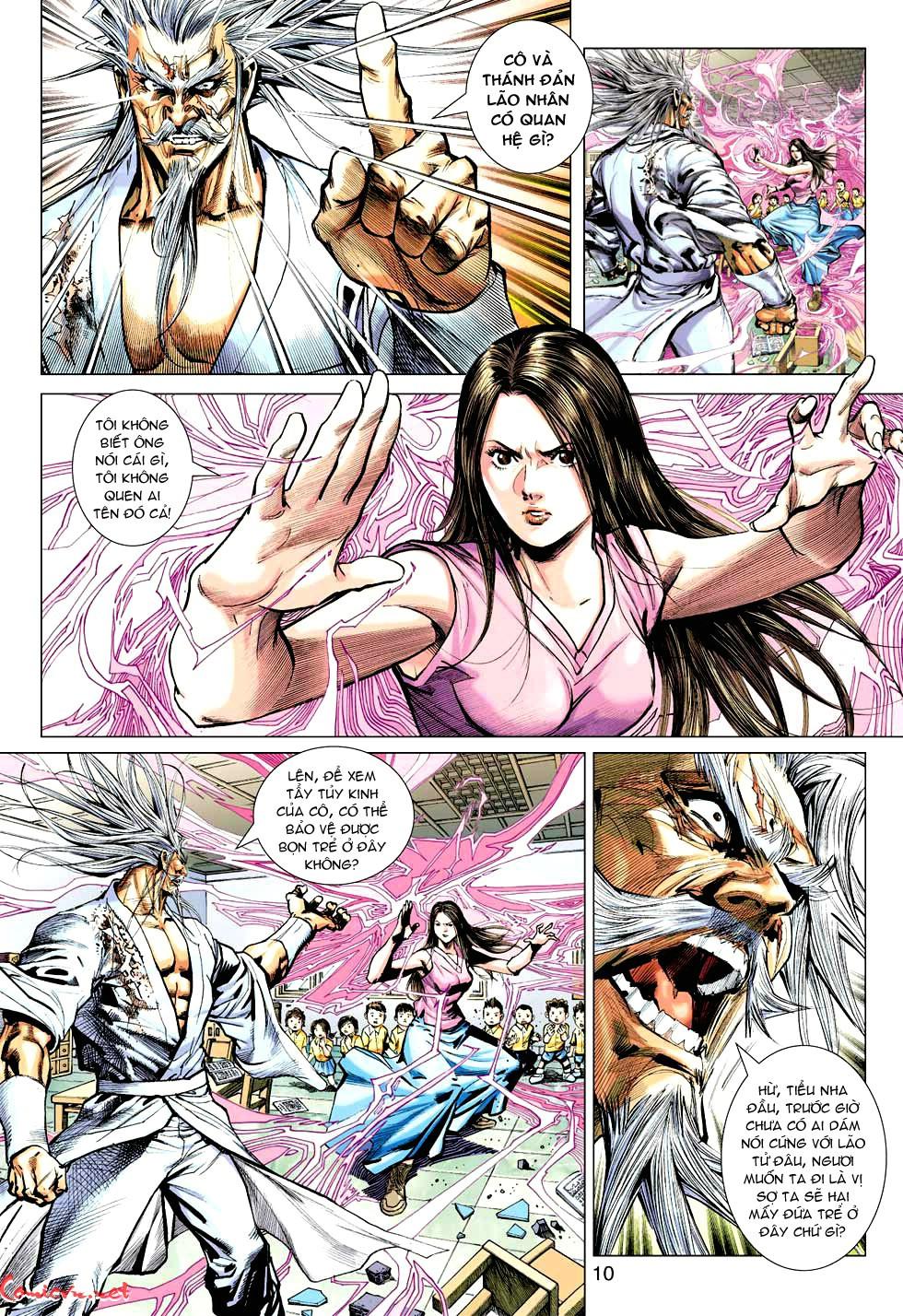 Vương Phong Lôi 1 chap 49 - Trang 10