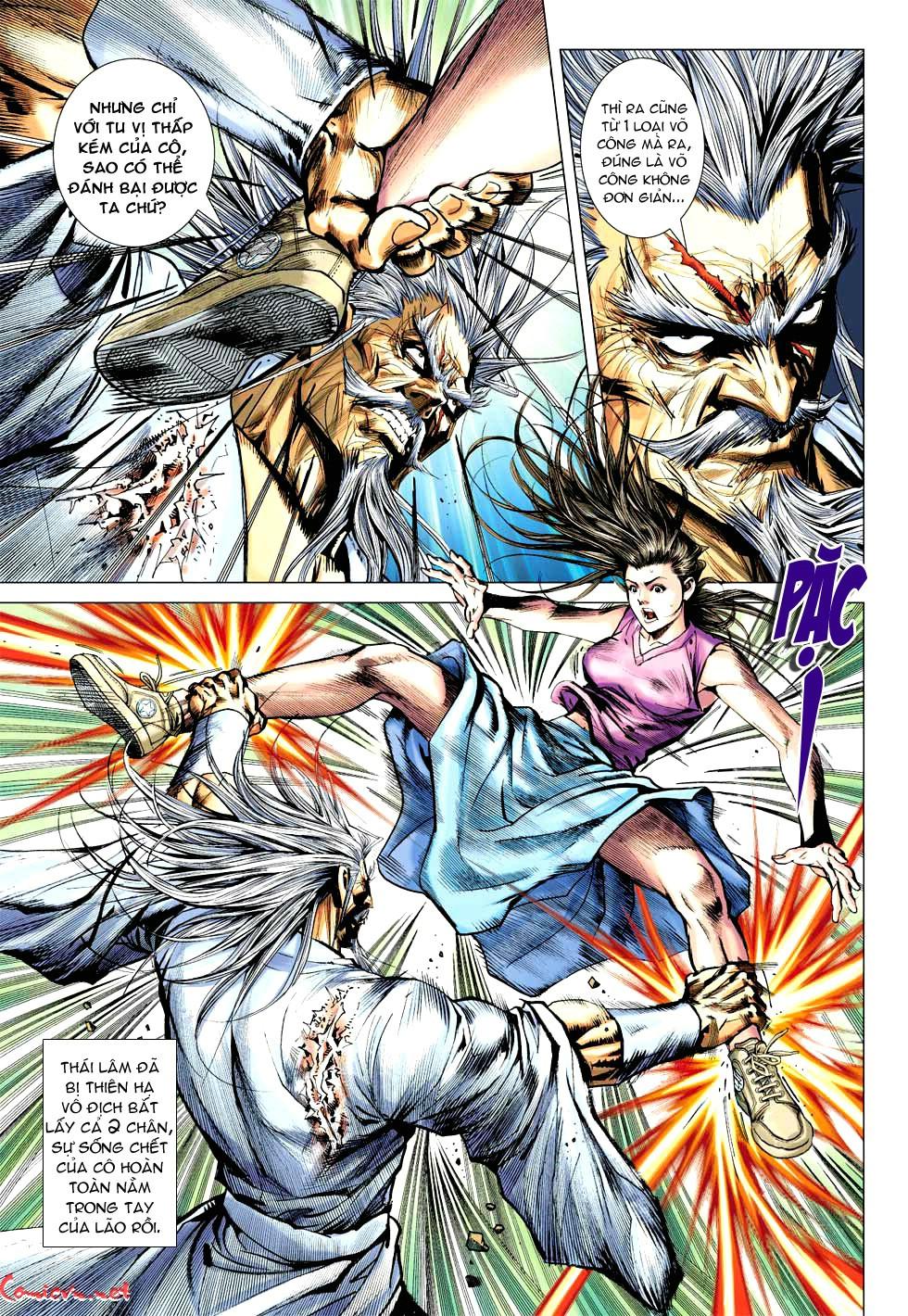 Vương Phong Lôi 1 chap 49 - Trang 13