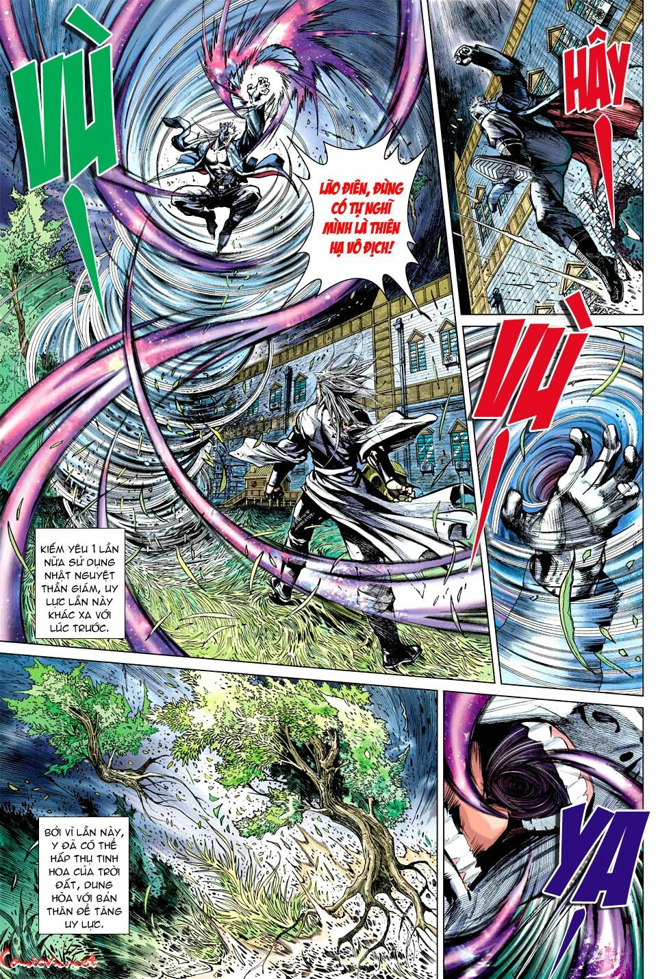 Vương Phong Lôi 1 chap 49 - Trang 16