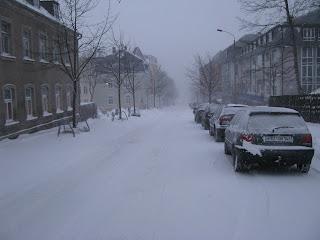 Schneegestöber