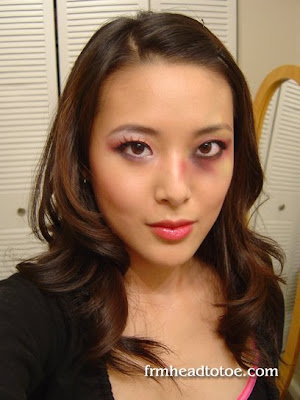 Pink And Black Eye Makeup